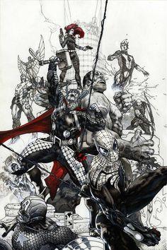 Avengers #24 by Simone Bianchi *