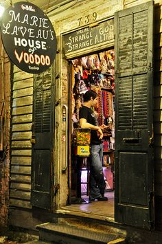 House of Voodoo - New Orleans by igrigorik, via Flickr