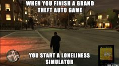The sad and bitter truth. Hopefully more stuff to do in GTA5!