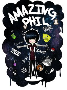 Dan and Phil - Whiskers Wallpaper by Petra1999 on DeviantArt--> pin: sorryimkayle