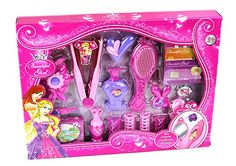 World King Toys Pink Beauty Girl Makeup Fashion Pretend Play Toy Combo Set with Comb, Flat Iron, and Accessories with Lights >>> You can find out more details at the link of the image. Kids Toy Shop, Toys Shop, Barbie Girl Toys, Toddler Christmas Gifts, Diy Barbie Furniture, Toddler Girl Gifts, Princess Toys, Baby Doll Accessories, Kids Makeup