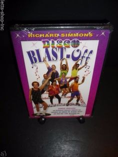 Richard Simmons: Disco Blast-Off (DVD, 2003) New Sealed Very Rare