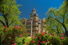 Denton County Courthouse in Denton