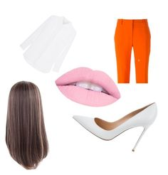 """""""at work"""" by azziahcobbfreeman on Polyvore featuring STELLA McCARTNEY and Gianvito Rossi"""
