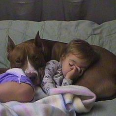 My kids WILL be raised right - they will be raised to love ALL animals - they will also be raised to love pitbulls like they are any other breed. Quote that - jessica ann =)