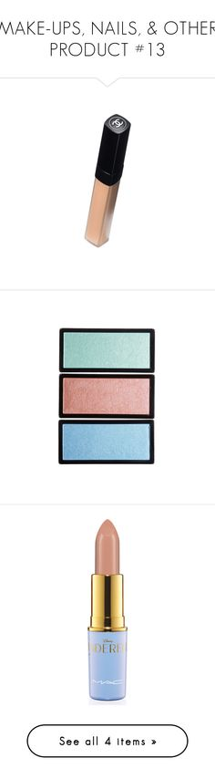 """""""MAKE-UPS, NAILS, & OTHER PRODUCT #13"""" by missk2blue ❤ liked on Polyvore featuring beauty, makeup, cosmetics, fillers, eye makeup and lips"""