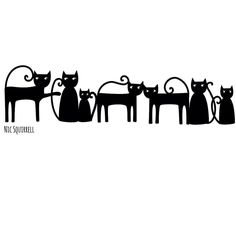 Welcome to the Silhouette Design Store, your source for craft machine cut files, fonts, SVGs, and other digital content for use with the Silhouette CAMEO® and other electronic cutting machines. Silhouette Curio, Silhouette Design, Silhouette Files, Wood Burning Crafts, Cat Costumes, Cat Tattoo, Stuffed Animal Patterns, Halloween Cat, Pet Collars