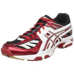 ASICS Women's GEL-Volley Lyte Volleyball Shoe,Red/White/Black,12 « Shoe Adds for your Closet