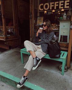 street_style_paris on Poshinsta Mode Outfits, Fall Outfits, Casual Outfits, Fashion Outfits, Womens Fashion, Blazer Outfits, Casual Blazer, Blazer Fashion, Fashion Clothes