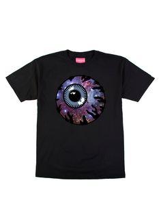 Galaxy Keep Watch T-Shirt (Black)