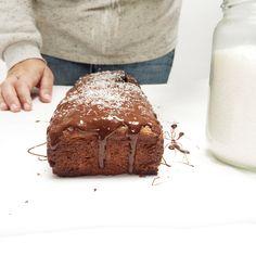 banana bread recept met havermout en choco made by ellen