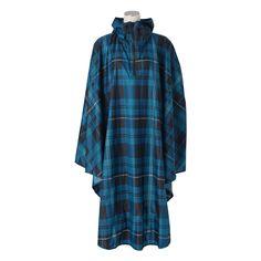 チャリーポンポン レインコート フリー チェック(ブルー) Francfranc(フランフラン)ファッション雑貨 レイングッズ