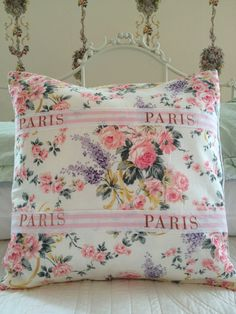 French Country Pillow Cover Sham Cottage