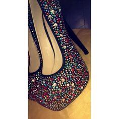 040c2b488b63b Escarpin plateforme a strass multicolore 37. Escarpins Plateforme, Chaussure  Femme ...