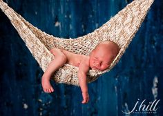 Photo Prop Baby Hammock by MitziKnitz on Etsy, $35.00