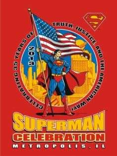 Superman fans to descend on Metropolis, Illinois for the 2013 Superman Celebration