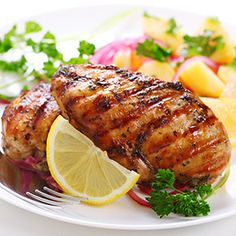 Outrageous Grilled Chicken Ingredients 4 large chicken breasts ¼ cup butter ¼ cup cooking sherry ¼ cup Moore's Original Marinade ¼ cup olive oil ¼ cup lemon juice