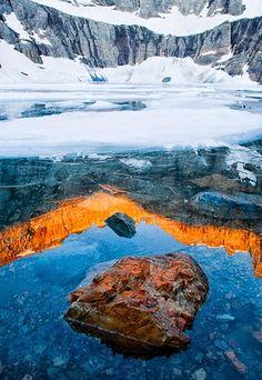 Iceberg Lake,Montana,USA