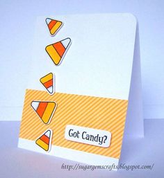 Got CANDY? by Sugar Gem Crafts - Cards and Paper Crafts at Splitcoaststampers