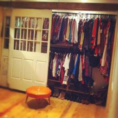 DIY closet finished