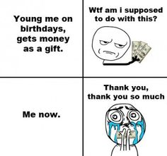 Money As A Gift Then And Now- Lol Jaja