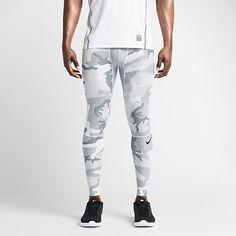 Nike Pro Hypercool Woodland Men's Tights. Nike Store