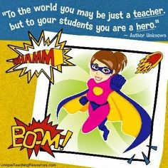 "Crafty Texas Girls: ""Super Hero"" Teacher Appreciation Week"