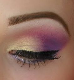 Purple smokey eye    Pinned on behalf of Pink Pad, the women's health mobile app with the built-in community