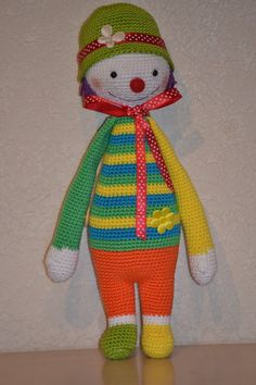 Clowntje Juul made by Josie.
