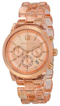 Michael Kors MK6203 Audrina Chronograph Rose Gold Tone Acetate Watch +MK box. Free shipping and guaranteed authenticity on Michael Kors MK6203 Audrina Chronograph Rose Gold Tone Acetate Watch +MK box at Tradesy. Rose gold-tone stainless steel case with a rose ac...