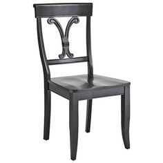 Vienna Dining Chair - Rubbed Black