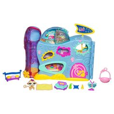 Black Friday 2014 Littlest Pet Shop Pet Hotel Exclusive from Hasbro Cyber Monday. Black Friday specials on the season most-wanted Christmas gifts. Baby Doll Nursery, Baby Dolls, Lps Accessories, Lps Toys, Pet Hotel, Little Pet Shop Toys, Pikachu, Black Friday Specials, Barbie Party