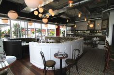 Baduzzi - Italian Style restaurant location in the North Wharf, Auckland, New Zealand.