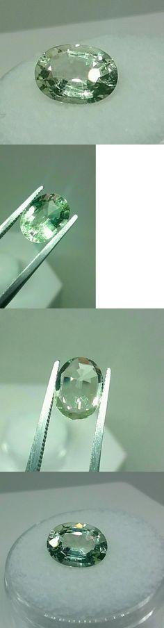 Beryl 110789: 2.20Ct. Green Aquamarine (Beryl)Glowing Mint Green Eye Clean Eye Candy BUY IT NOW ONLY: $49.0