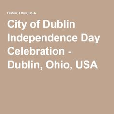 dublin ohio july 4th 2016