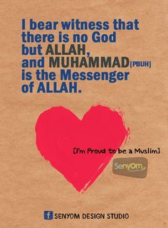 Shahadah is the act of testifying to the fact that there is no God but Allah and that Muhammad was in fact a messenger of Allah.  It is one out of the five pillars of faith for the Islamic religion and usually is the first step of faith.