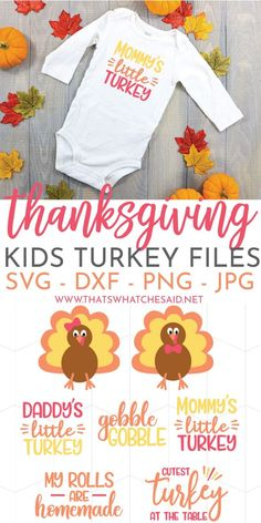 If you have a little turkey in your life, grab this Thanksgiving Turkey Baby Bodysuit SVG Bundle! A girl & boy turkey SVGs + 5 cute sayings prefect for shirts or baby bodysuits! Grab the files and get your craft on! Thanksgiving Projects, Thanksgiving Baby, Thanksgiving Desserts, Christmas Desserts, Jouer Au Poker, Cricut Baby Shower, Baby Turkey, Cricut Creations, Free Baby Stuff
