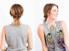 20 Hairstyles That'll Look FAB Under a Hat via Brit + Co.