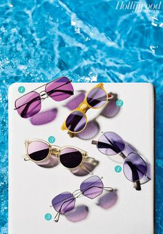 4dc16c8a262 Purple Reign  Lavender Tints Give Men s  Sunglasses New Life.After seasons  of blue