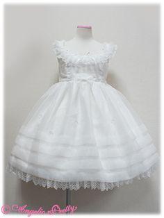 glass doll JSK white