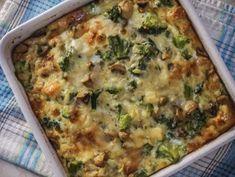 Easy Egg Bake, Kai, Baked Eggs, Quiche, Baking Recipes, Healthy Eating, Breakfast, Food, Deviled Eggs