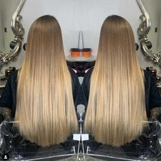 Addicted to Length Gallery - We have some stunningly beautiful hair styles to choose from. Light Ombre, Long Extensions, Blonde Babies, Hair 24, Copper Hair, Ash Blonde, Layered Cuts, Stunningly Beautiful, Female Images