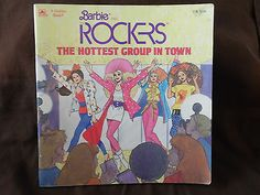 Barbie and the Rockers The Hottest Group in Town 1987 Golden Book