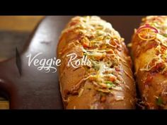 Veggie Rolls Recipe / Vegetable Filled Healthy Flavorful Snacks | Snack ON! - YouTube