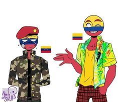 Read Bolivia y Chile from the story Countryhumans [Cómics] by sunisinmortal with reads. Mundo Comic, Country Art, Fandom, Drawing Techniques, Hetalia, Cool Drawings, Chibi, America, Manga