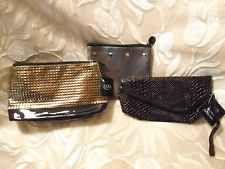 Ulta Ipsy 3 Piece Lot beauty cosmetic makeup clutch purse travel bag