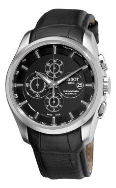 Tissot - watch! You can never go wrong with black!