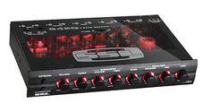 Nuevo Soundstorm s4eq 4 Banda Pre Amplificador Gráfico AUDIO estéreo de coche Ecualizador Eq