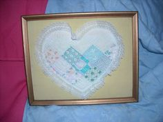 "shabby n chic heart vintage quilt picture decoration decor from for sale in my store The Chic N Prim cottage ebay have to put in the ""the "" in search engine $10 + FREE Shipping when you spend $30 or more! 1943"