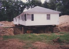 Need to subdivide your property but have a house in the way? Building Movers & Contractors Inc. can help you out. Building Movers, House Lift, Perth Amboy, House Movers, Pine Valley, Long House, Unusual Homes, Norwalk Connecticut, Shed